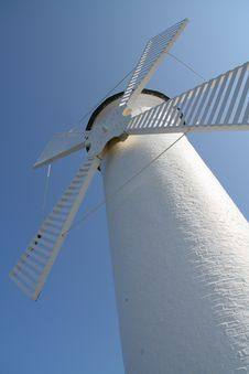 Free Windmill In Swinoujscie Stock Photo - 5085680