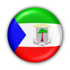 Free Equatorial Guinea Flag Royalty Free Stock Photography - 5085907