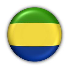 Free Gabon Flag Stock Image - 5085951