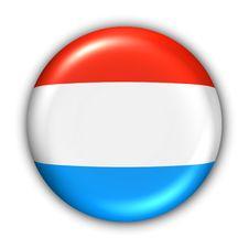 Luxemborg Flag Stock Images
