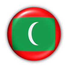 Free Maldives Flag Royalty Free Stock Image - 5086036