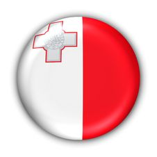 Free Malta Flag Stock Photography - 5086042