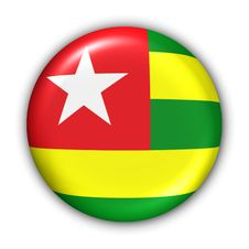 Free Togo Flag Stock Photography - 5086202