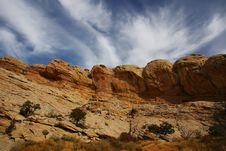 Free Red Rock San Rafael Swell Stock Photo - 5087020