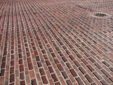 Free Brick Road Royalty Free Stock Photos - 5087358