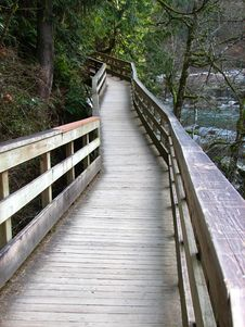Free Wooden Pathway Stock Photos - 5087383
