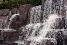Free Cascading Falls Royalty Free Stock Image - 5087486
