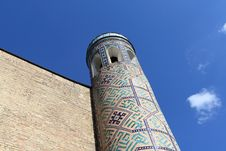 Free Minaret In Uzbekistan Royalty Free Stock Photography - 5087497