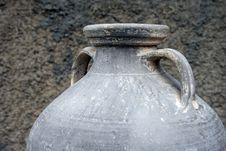 Free Grey Amphora Stock Image - 5088581