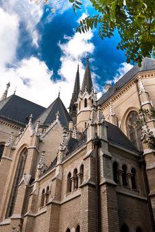 Free Gothic Church Budapest Royalty Free Stock Image - 50898226