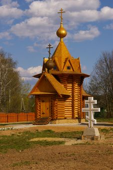 Free Wooden Church Stock Image - 5090301