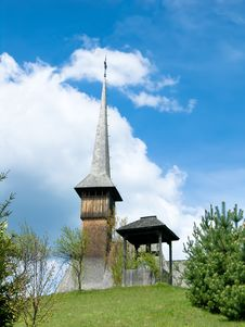 Barsana Church In Maramures Stock Image