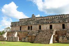 Mayan Columns Stock Photos