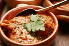 Traditional Pakistan Cuisine Royalty Free Stock Photography