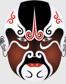 Free Chinese Opera Face Stock Images - 5091014