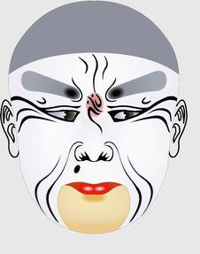 Free Chinese Opera Face Stock Photography - 5091022
