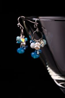 Free Earrings And Glassess Stock Images - 5091414