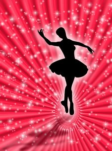 Free Dance In The Stars Royalty Free Stock Images - 5091709