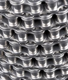 Free Metal Link Chain- Background Royalty Free Stock Photography - 5091737