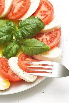 Free Fresh Mozzarella Royalty Free Stock Image - 5092026