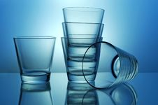 Free Stack Of Glasses Royalty Free Stock Image - 5093096