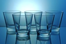 Free Group Of Glasses Royalty Free Stock Photography - 5093097