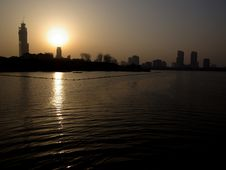 Free Xuanwu Park Sunset 2 Stock Photos - 5093183