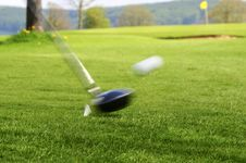 Free Golfing Royalty Free Stock Photography - 5093487