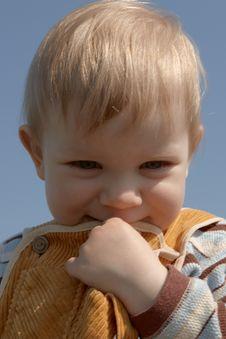 Free Smiling Boy Royalty Free Stock Image - 5094066