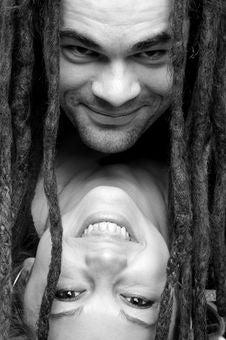 Free Smiling Couple Portrait Stock Photo - 5094670