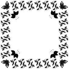 Free Black And White Frame Royalty Free Stock Photo - 5094825