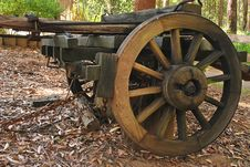 Cart Wheel Stock Image