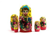 Free Russian Nested Dolls Royalty Free Stock Photos - 5095308
