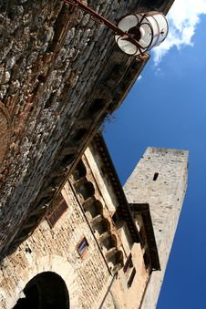 Free San Gimignano View Stock Photography - 5095822