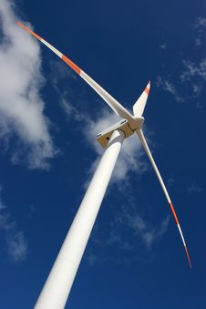 Free Wind Mill Power Generator Royalty Free Stock Photos - 5096018