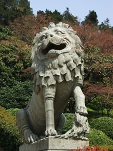 Free Lion Statuary Royalty Free Stock Photo - 5096775