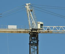 Industrial Consruction Crane Royalty Free Stock Images