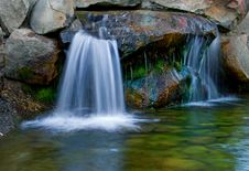 Little Waterfall Stock Photography
