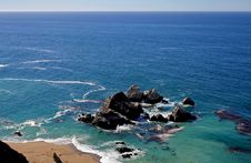 Free Californian Coast Royalty Free Stock Images - 5097389