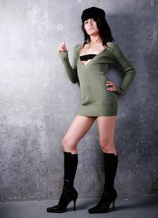 Free Sexy Asian Fashion Stock Photography - 5097542