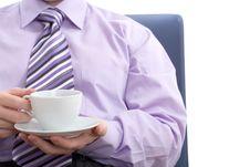 Free Enjoy Of Coffee Stock Image - 5097551