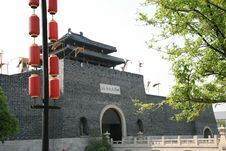 Free Traditional Chinese Gate Tower Stock Images - 5097654