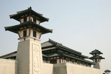 Free Traditional Chinese Building Stock Photo - 5097720
