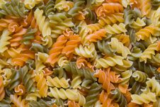 Free Multicolour Pasta Royalty Free Stock Photography - 5098197