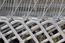 Free Supermarket Trolley Royalty Free Stock Image - 5098396