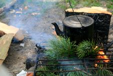 Free Black Kettle Stock Photo - 5098580