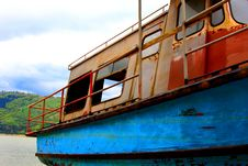 Free Abandoned Boat Royalty Free Stock Photos - 5099238