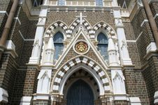Free Exterior Architecture Of Mount Mary Church In Bandra, Bombay  In Stock Photography - 510082