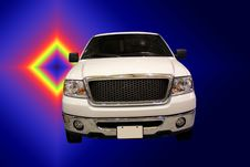 Free Ford SUV On Gradient Background Royalty Free Stock Photo - 510305
