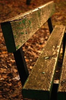 Free Wood Bench Royalty Free Stock Images - 510629